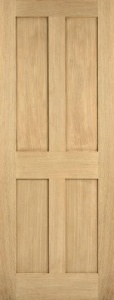 Internal Oak London Door