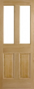 Internal Oak Malton Unglazed Door