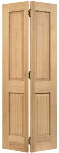 Internal Pre-Finished Bi-Fold Regency Oak Door