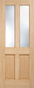 Internal Oak Richmond Glazed Door