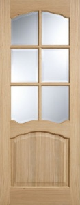 Internal Oak Riviera Glazed Door
