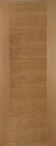 Internal Oak Iseo Crown Cut Veneer Door
