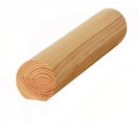 Pine Mopstick Handrail 44mm x 44mm Up To 3m