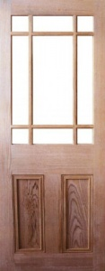 Internal Pitch Pine Downham Unglazed Door