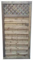 Porto Gate With Trellis Top 1800mm x 900mm