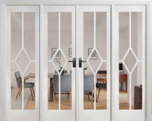 Internal White Reims W8 Room Divider