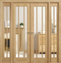 Internal Oak Lincoln W6 Room Divider