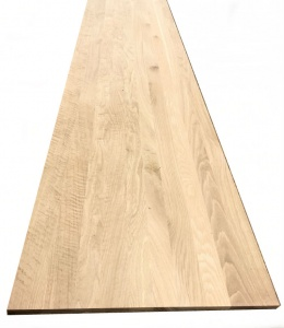 European Solid Oak Board B/C 2.4m x 600mm x 18mm