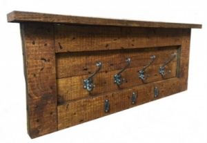 Bespoke Hand Made Rustic Coat Rack (Style A)