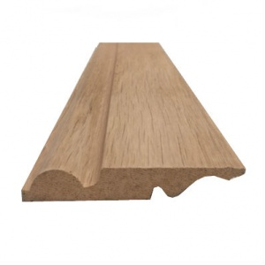 Solid Oak Reversible Skirting Board Torus/Ogee Pattern 125mm x 20mm x 3m