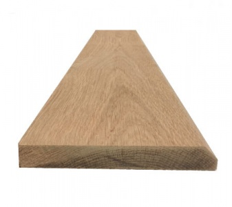 Solid Oak Skirting Board Mini Chamfer Pattern 145mm x 20mm x 3m