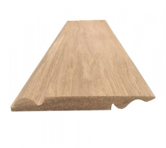 Solid Oak Reversible Skirting Board Torus/Ogee Pattern 175mm x 20mm x 3m