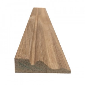 Solid Oak Architrave Ogee Pattern 70mm x 20mm x 2.4m