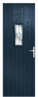 External Composite Speedwell Blue Door Set