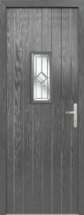 External Composite Speedwell Grey Door Set