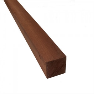 100mm x 100mm (4'' x 4'') x 3m Joinery Sapele - Planed All Round
