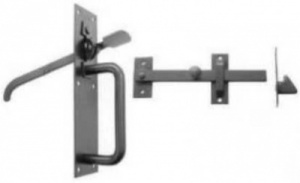 Heavy Duty Suffolk Latch Black