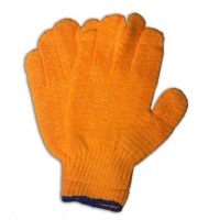 Click Criss Cross Gloves Orange