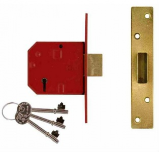 Union 5 Lever Deadlock BS 3621:2007