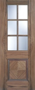 Internal Pre-Finished Walnut Barcelona Door