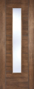 Internal Pre-Finished Walnut Laminate Vancouver Glazed Door