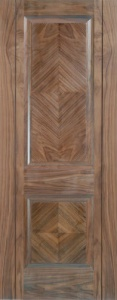 Internal Pre-Finished Walnut Madrid Door