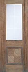 Internal Pre-Finished Walnut Valencia Door