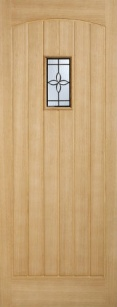 External Oak Chesham Warmer Door - Part L Compliant