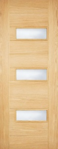 External Oak Portomaso Warmer Door - Part L Compliant