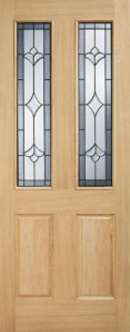 External Oak Salisbury Warmer Door - Part L Compliant
