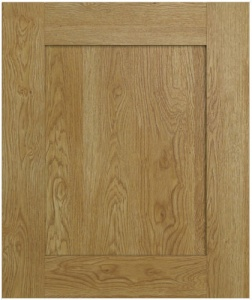 Westwood Natural Oak  Solid Timber Shaker Style Doors