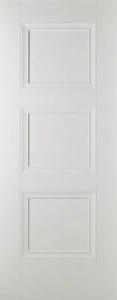 Internal Primed White Amsterdam Solid Door