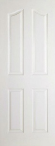Internal Composite White Mayfair Door