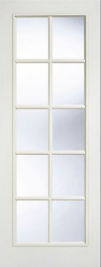 Internal Composite White SA Glazed Door