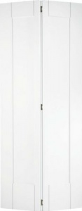 Internal Primed White Shaker Bi-Fold Solid Door