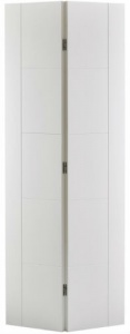 Internal Primed White Vancouver Bi-Fold Solid Door