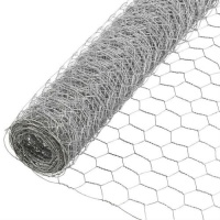 Galvanised Wire Netting 10m Roll 25mm x 25mm