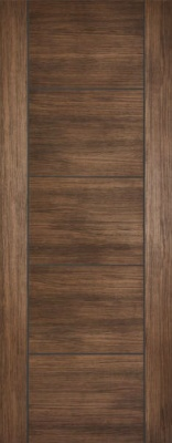 Internal Pre-Finished Walnut Laminate Vancouver Door