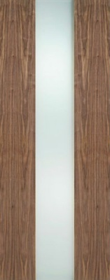 Internal Pre-Finished Walnut Zaragoza Glazed Door