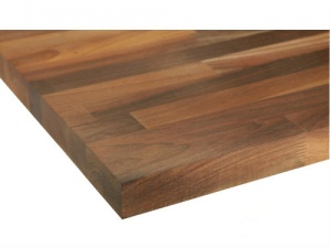 Solid Natural American Walnut Worktop 3m x 620mm x 27mm