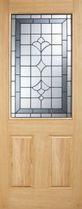 External Oak Winchester Warmer Door - Part L Compliant