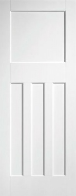 Internal Primed White DX 30's Style Solid Door