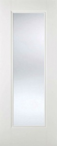 Internal Primed White Eindhoven Glazed Solid Door