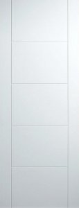 Internal Primed White Florida Semi-Solid Door