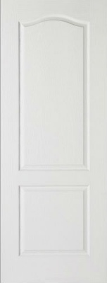 Internal Composite White Classical Door