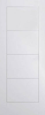 Internal Composite White Ladder Door