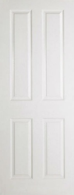 Internal Composite White 4 Panel Door