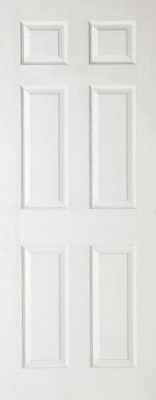 Internal Composite White 6 Panel Door