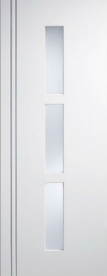 Internal Pre-Finished Composite White Sierra Blanco Glazed Door