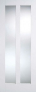 Internal Primed White Vermont Glazed Solid Door